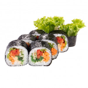 Vegetable roll, photo