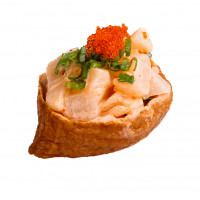 Inari with scallop, photo