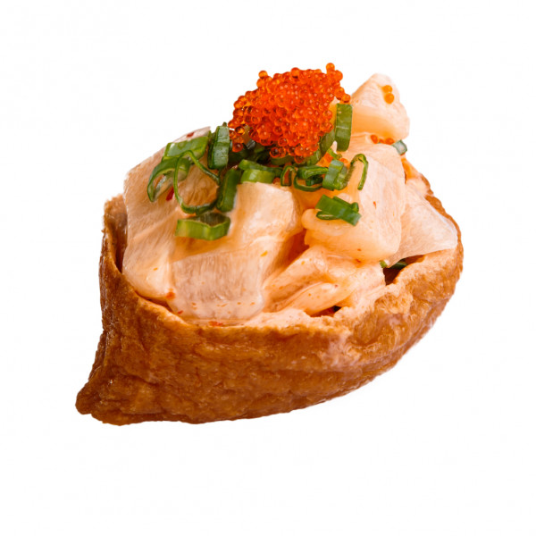 Inari with scallop in Odessa, photo