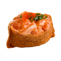 Inari with salmon, photo