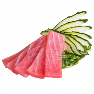 Sashimi with tuna, photo