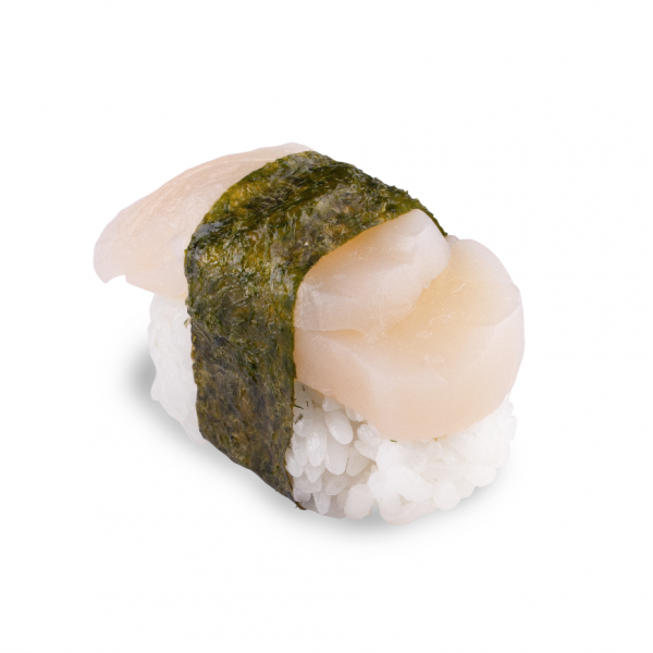 Nigiri with scallop in Odessa, photo