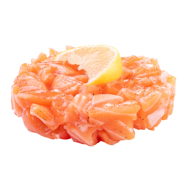 Salmon tartare in Kharkiv, photo