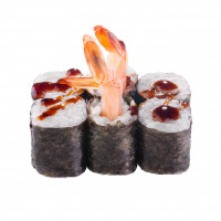 Maki Roll with tiger shrimp, photo