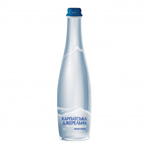 Karpatska Dzherelna 0.5L sparkling water, photo