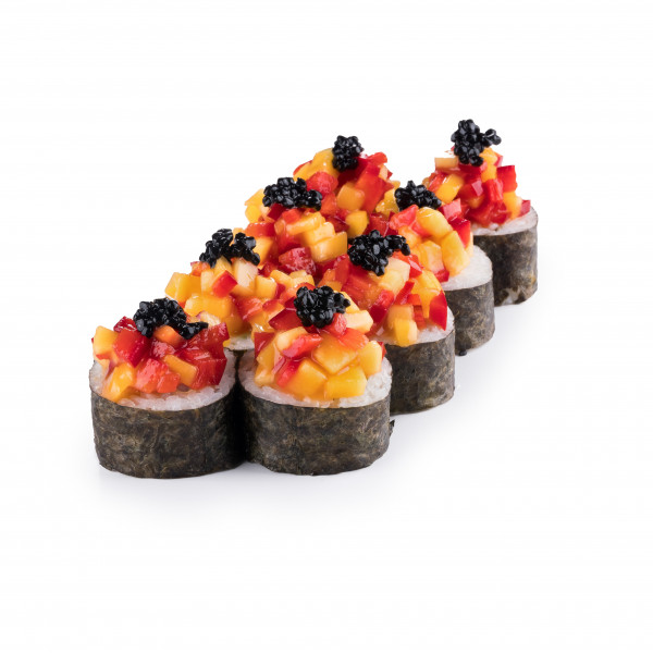 Detox tropical roll in Kiev, photo